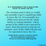 Family life( as a partner or parent), private life and exceptional circumstances Version 11.0 16 October 2020